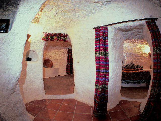 Cave Houses In Galera Near Granada Spanish Dreams